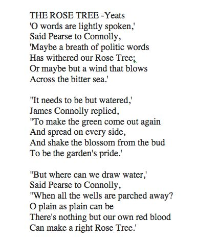 william butler yeats the mask Although the poetry of william butler yeats is often misconstrued as  autobiographical, the poet scorned such transparency, calling it.
