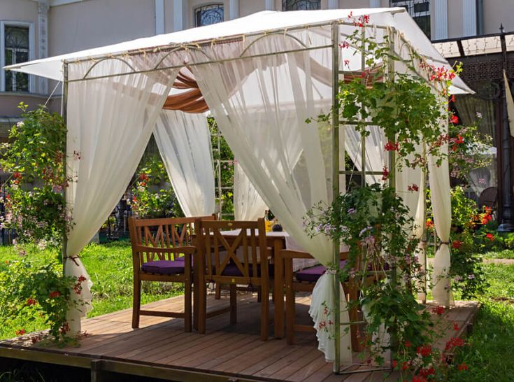 34 Square Gazebos To Give Your Back Yard Style