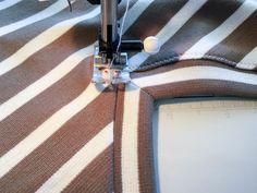 Tutorial: Sewing the Renfrew V Neck   Sewaholic