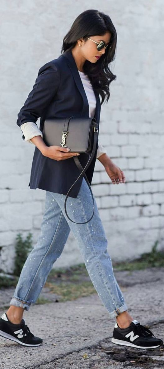 #spring #summer #street #style #outfitideas |Sporty Chic Street Style                                                                             Source