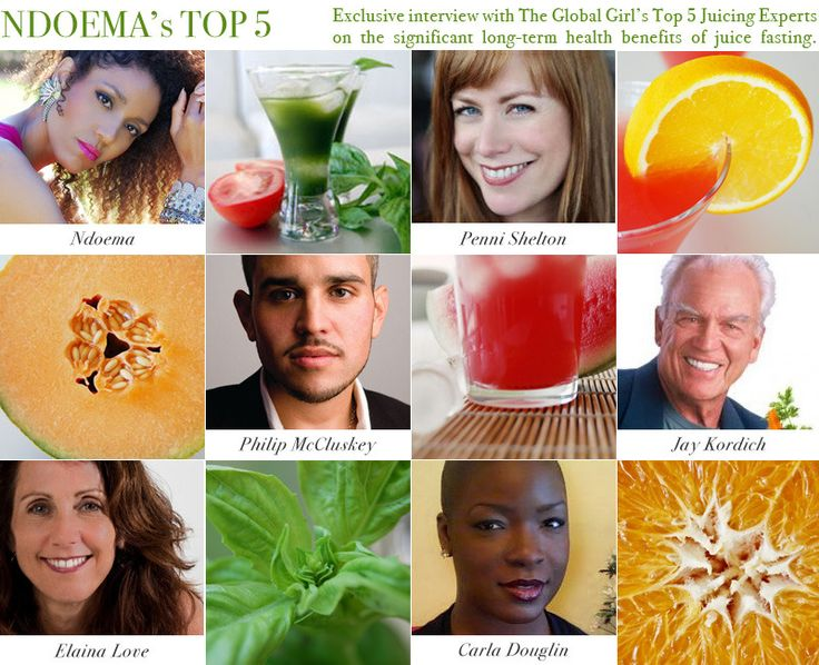 Ndoema interviews Penni Shelton, Philip McCluskey, Jay Kordich, Elaina Love, Carla Douglin on the health benefits of juice fasting