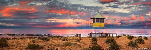 Entrance Beach Sunset, The Entrance, Central Coast, NSW Australia