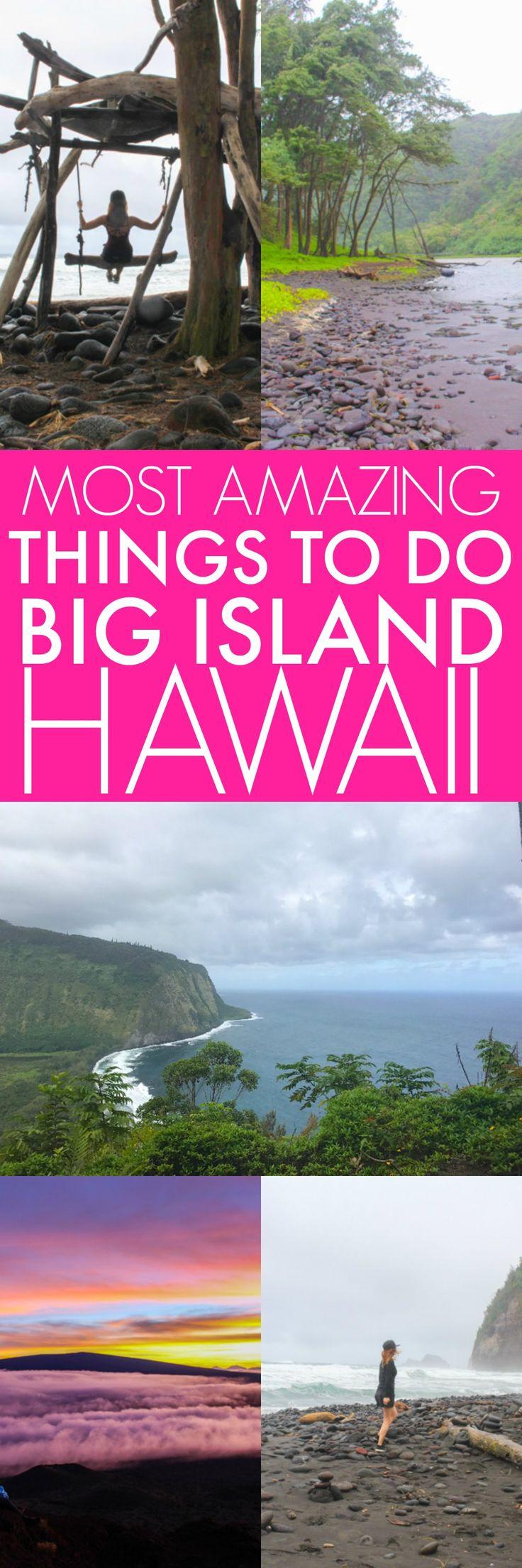 Sie MÜSSEN diese Orte auf Hawaiis Big Island sehen – Die schönsten Attraktionen auf Hawaii Island platingsandpairings.com