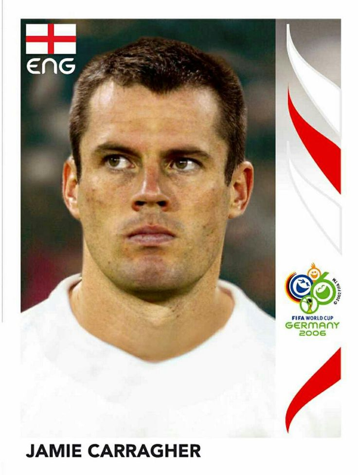 97 Jamie Carragher - England - FIFA World Cup Germany 2006