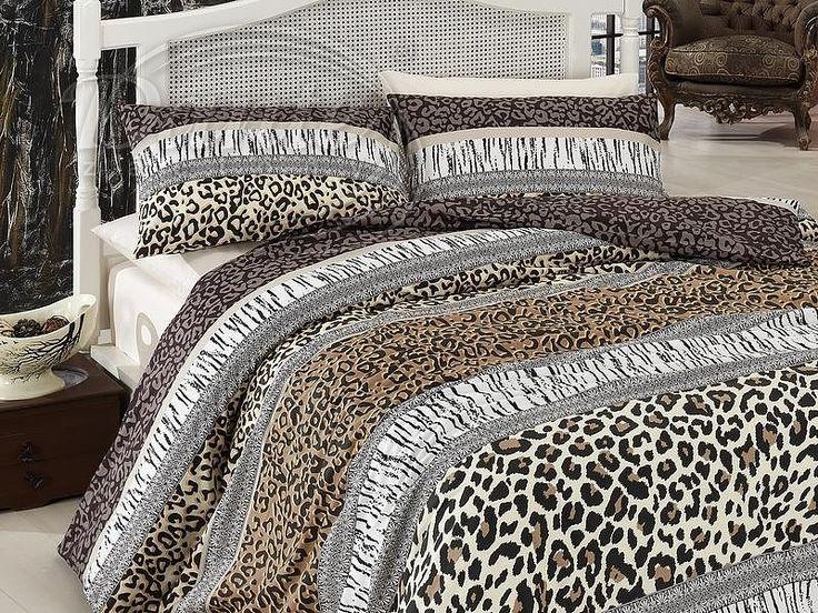 Učarovaly vám zvířecí vzory? Kvalitní, bavlněné povlečení v přírodních barvách vás určitě zaujme.     Z obou stran má povlečení stejný potisk.     Zapínání je na zip.     Ložní souprava je vyrobena ze 100% hladké bavlny.