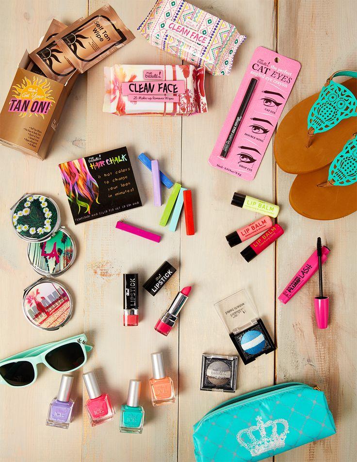 Spring Break Beauty Essentials From Rue21