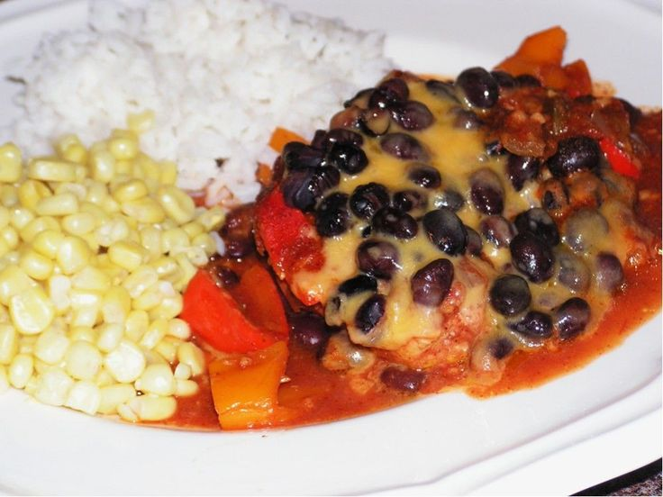 Recipe photo: Mexican chicken with black beans