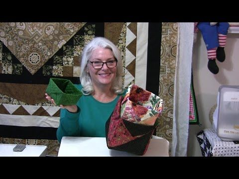 How To Easily Make A Fabric Box Of Any Size! | 24 Blocks