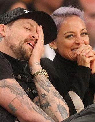 What's got Joel Madden and Nicole Richie laughing so hard?