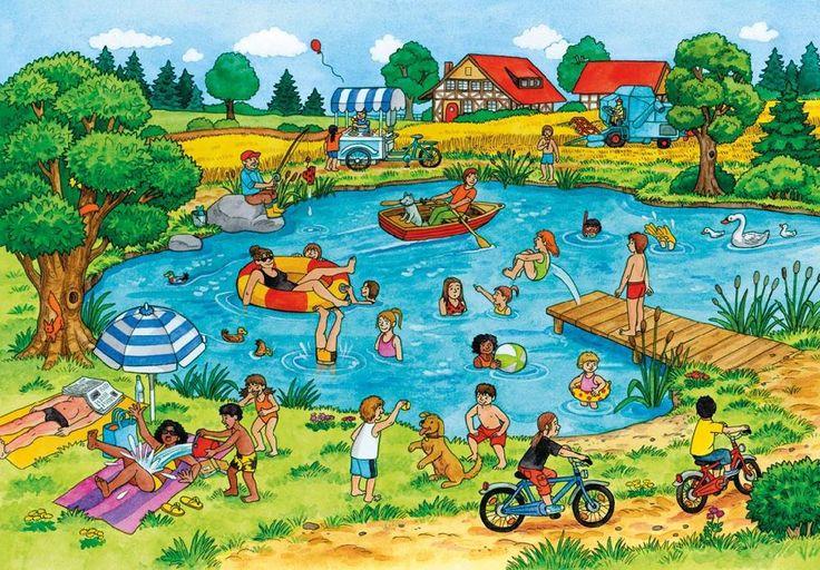 (2014-06) Hvad gør de ved/i søen?