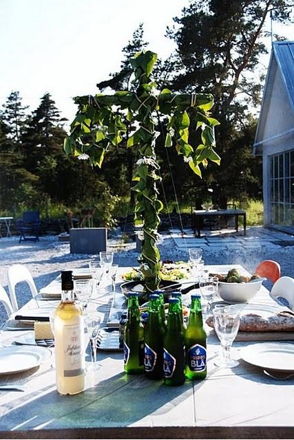 Swedish midsummer celebration