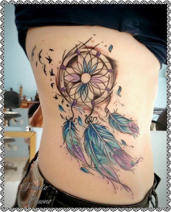 Filtro dos sonhos tattoo @paulo.buenofelipe Psychedelic Tattoo