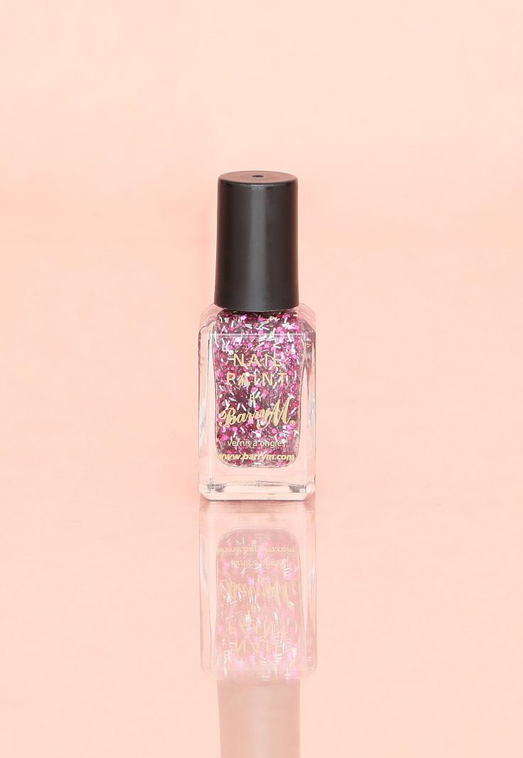#MGwinterwardrobe Barry M Glitter Nail Paint In Pink Sapphire.....or Turkish delight colour!!