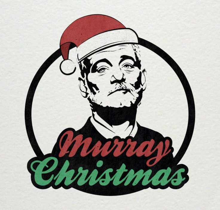 """""""Murray Christmas"""": a little early, yet extremely brilliant: Murraychristma, Bill Fing, Bill Murray, Murri Christmas, Geek Things, Murray Xmas, Murray Christmas, Bad Graphics, Holidays Seasons"""