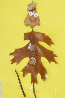 Mrs. Karen's Preschool Ideas: Fall leaf buddies