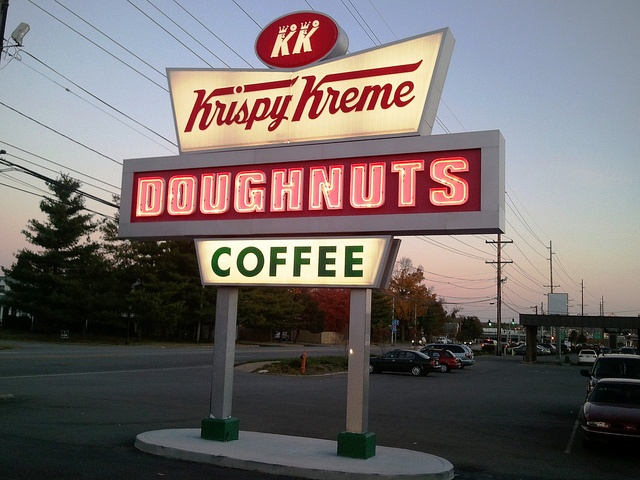 The Krispy Kreme business began in Louisville, KY... They surely must have the best doughnuts on the planet!!