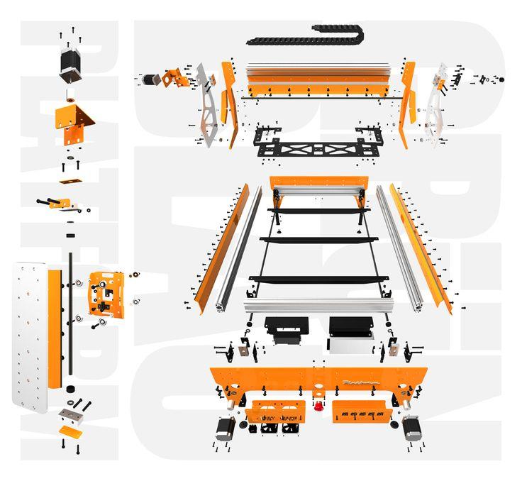 Grunblau Platform CNC Parts Bundle | CNCRouterParts