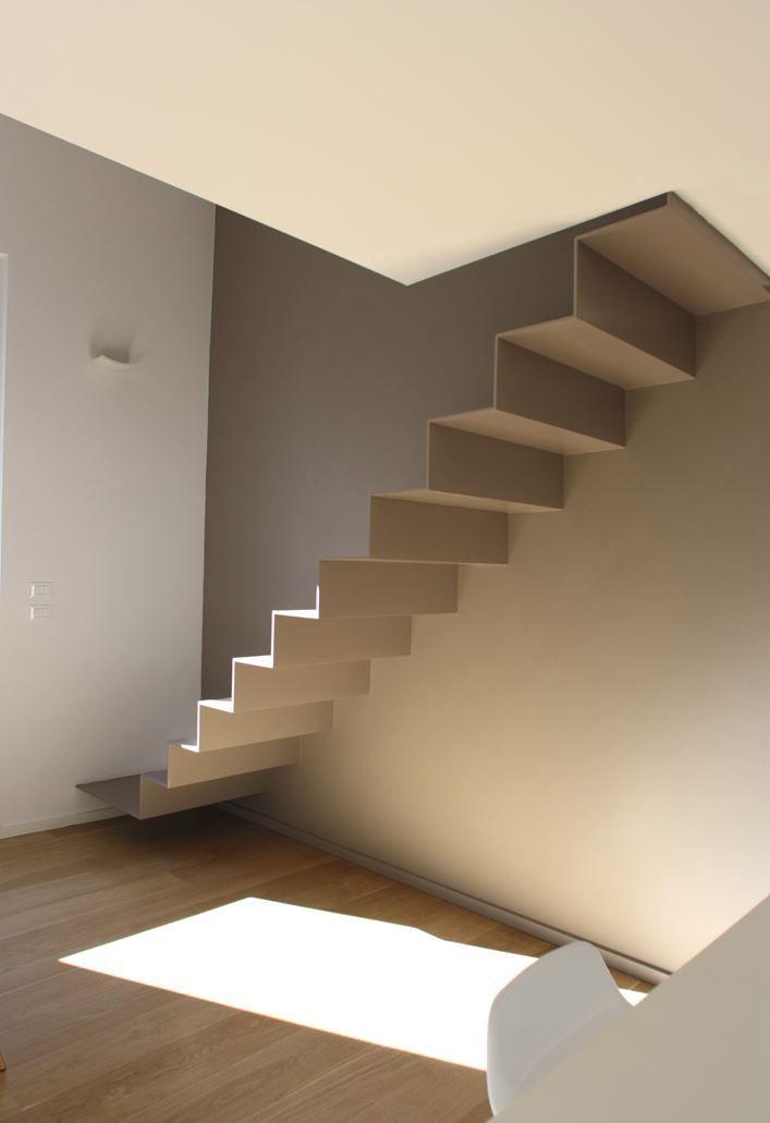 Casa F - Firenze - Picture gallery #architecture #interiordesign #staircase