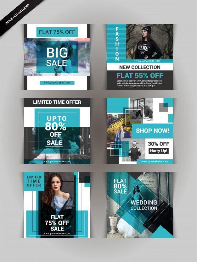 Fashion Social Media Post Or Banner Social Media Design Inspiration Instagram Template Design Social Media Design