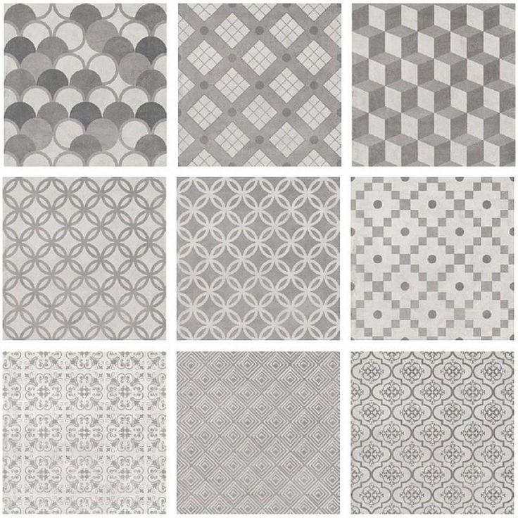 Плитка напольная Карнаби-стрит орнамент, цвет серый, 20,1х20,1 см, 1,05 м2, Напольная плитка - Каталог Леруа Мерлен