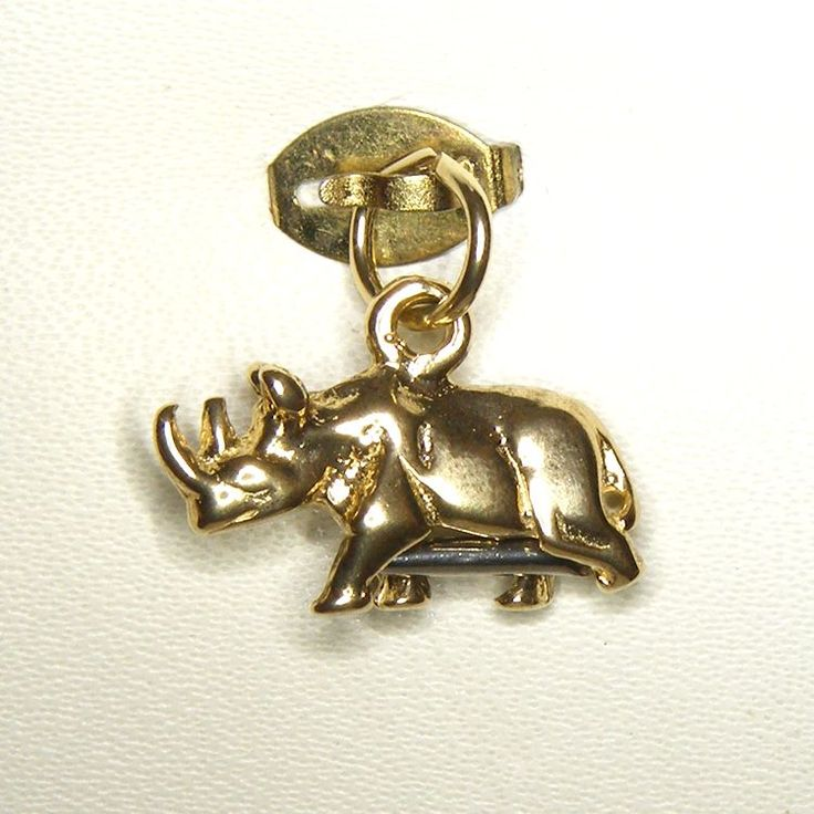 Buy Rhinoceros Charm (chr-2516) online at Chain Me Up