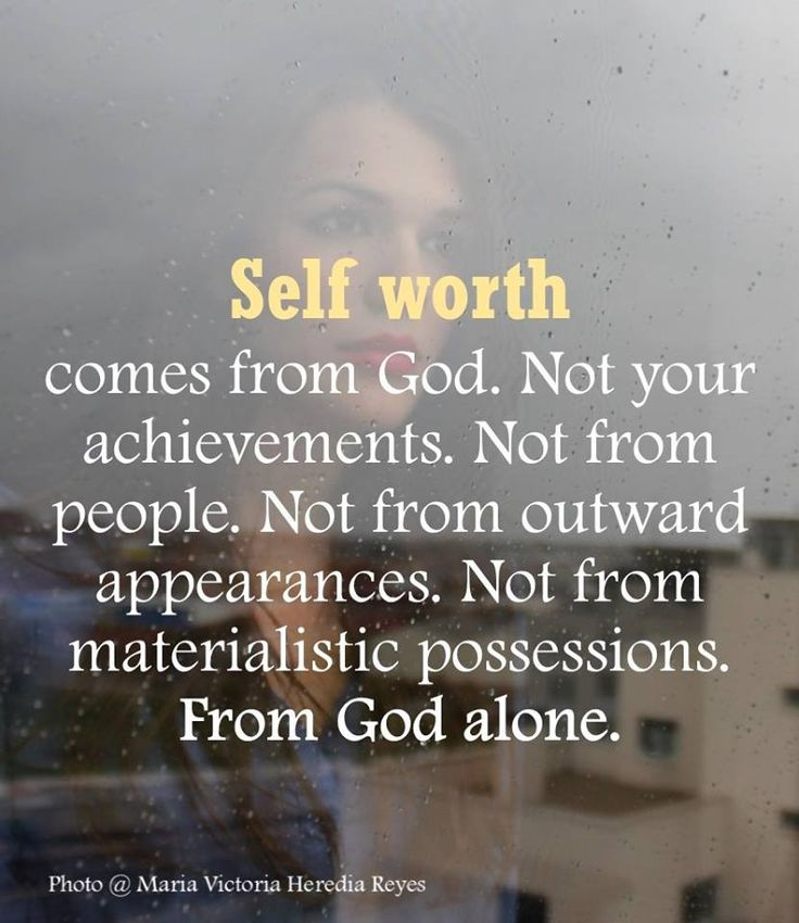 Jesus determined your value on the cross thousands of years ago when He gave up His life for you. You are precious, worthy, and beautiful in His sight. Never forget that.