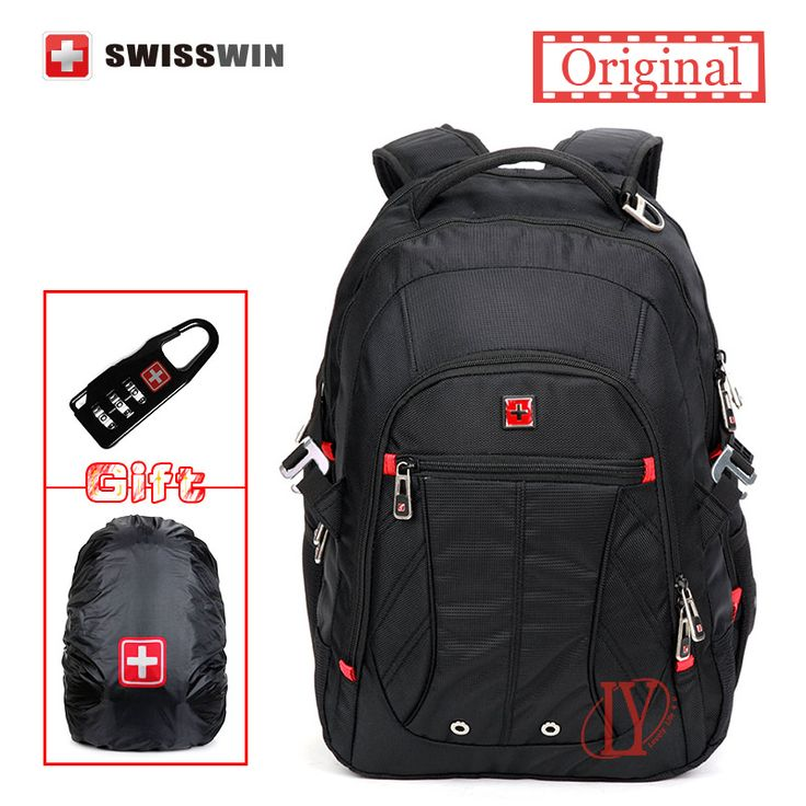 101.60$  Buy now - http://vixzj.justgood.pw/vig/item.php?t=ck7u6ov47453 - 1680D Swissgear Laptop Backpack SW8110I Waterproof Business Traveler Backpack Me 101.60$
