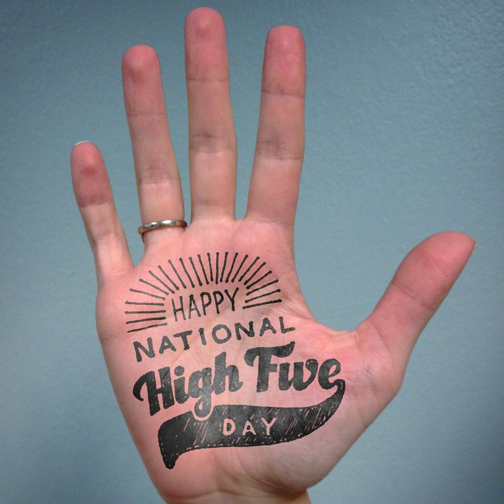 April 17 is National High Five Day! Celebrate today by giving your Team Members high fives as you pass them in the hallway. Or send out a High Five eCard at ecards.hilton-recognition.com/highfive