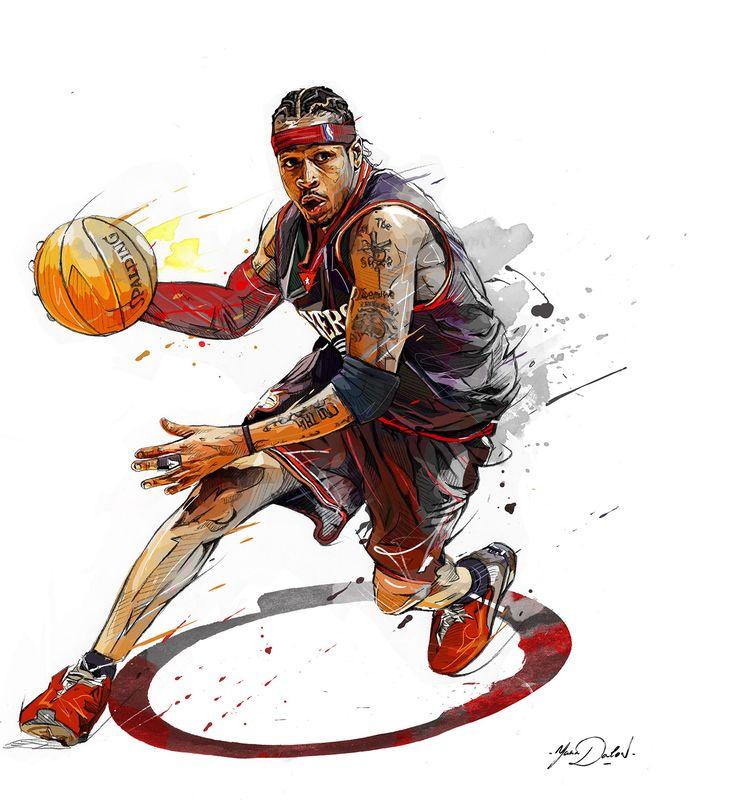 NBA- Allen Iverson on Behance