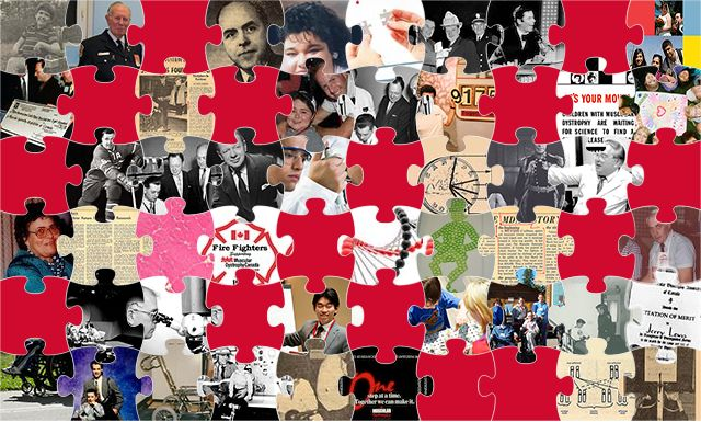 Five new stories have been added to the 60 Years of Progress puzzle! Check out the new ones, and the old ones like, the two songs produced in 1987 which MDAC used to promote awareness and were played during the Telethon.