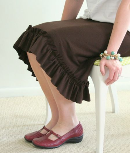 Knitting Skirt Tutorial : Best images about cut and sew skirts on pinterest