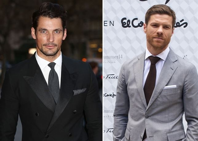 GQ - David Gandy and Xabi Alonso, the most stylish men of 2014