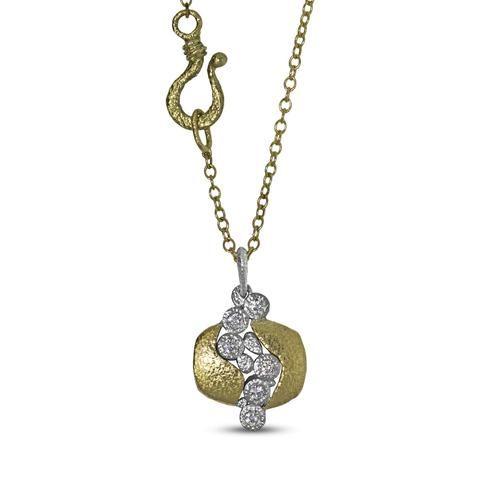 Custom Diamond Open River Pendant in 2019 | Custom Jewelry