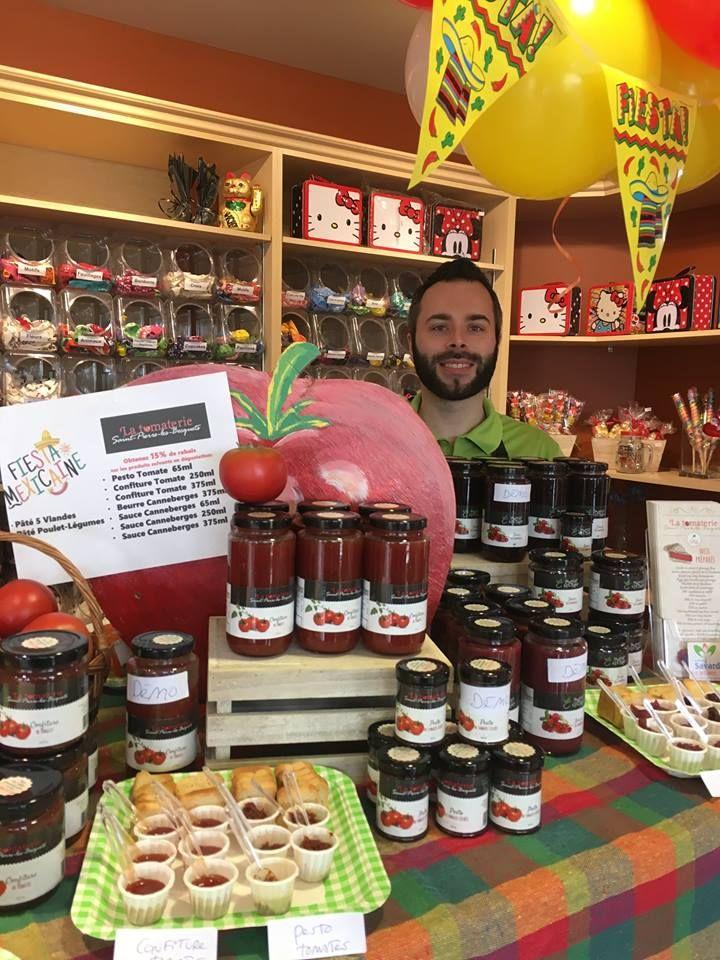 Plusieurs produits du terroir chez Fleuriste Savard de Nicolet. De beaux produits à découvrir et à offir!