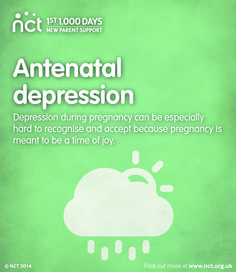 Pregnancy is generally seen as a time of cheerfulness, fulfilment and joy. Perhaps because of this, depression in pregnancy can be difficult both for women and the people around them to accept and recognise. If you think that you may be depressed or you are experiencing a dramatic change of emotions during pregnancy, it is important that you talk either to your midwife or GP, so that they can help you.