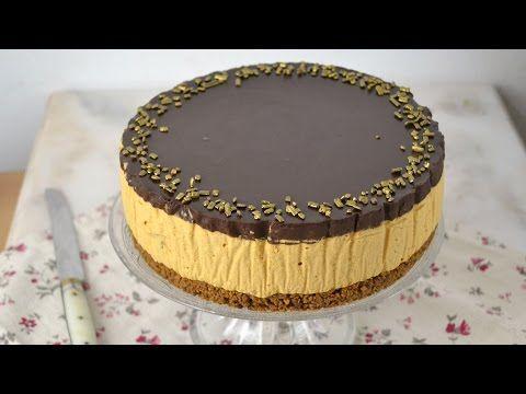 Tarta de dos chocolates con galletas ¡Sin horno!   Cuuking! Recetas de cocina