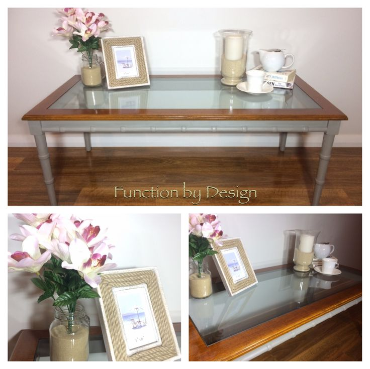 This beautiful Van Treight coffee table has been french polished on the top and has also been painted in Annie Sloan Chalk Paint French Linen on the legs. The base has been sealed with soft wax for durability.   The combination of the french polish and the paint, gives this piece a very sophisticated feel. The legs also feature beautiful de tailing. #furniture #frenchpolish #frenchlinen #anniesloan #anniesloanchalkpaint #ascp #handpainted #coffeetable #functionbydesign