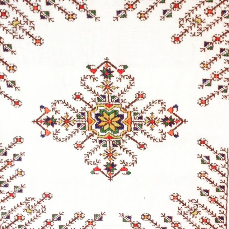 Cojin cojines bordados a mano punto marroquí fasi Fez de AZHOME en Etsy