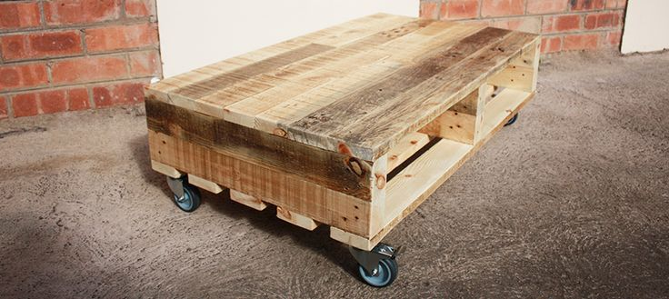 Pine Range 02 : Pallet Coffee Table