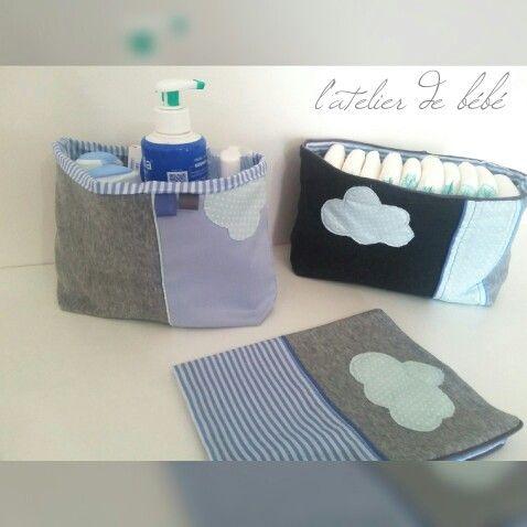 Le kit paniers et carnet de santé bébé 3000da