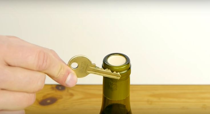 Nothing is worse than going to open a wine bottle, only to find that there is no corkscrew in sight. You might try using a knife or a shoe (more on this later), to no avail. Rather than ruining a perfectly fine bottle of wine just because you don't have an opener,