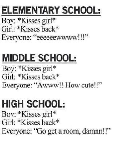 High Schools Quotes: Elementary School Middle School High School Funny Quotes