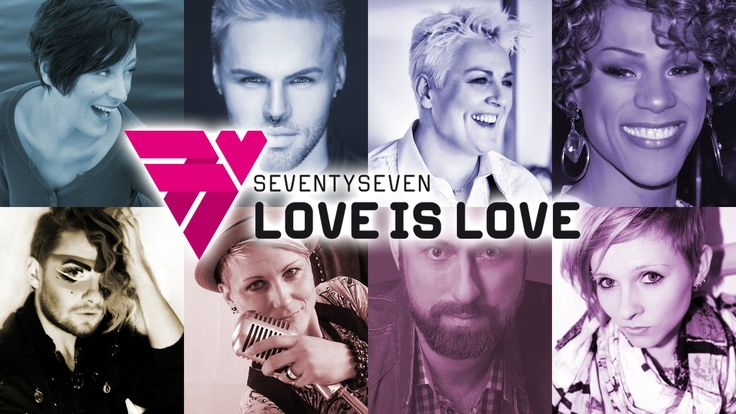 """#LoveisLove #77Love  """" ... 77 reasons to stand strong and proud to come out of the darkest night into the light ..."""" Love is Love    more Infos: http://100mensch.de/"""