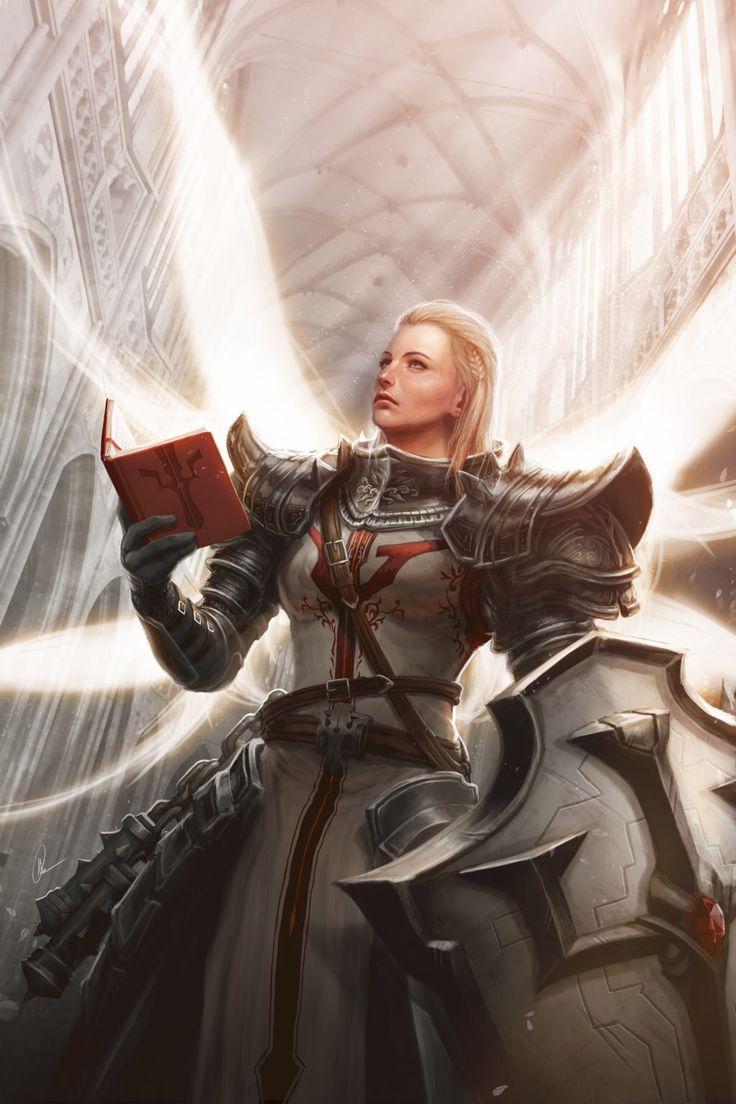 Faith in Light - Diablo 3 Reaper of Souls Fanart by me-illuminated on @DeviantArt