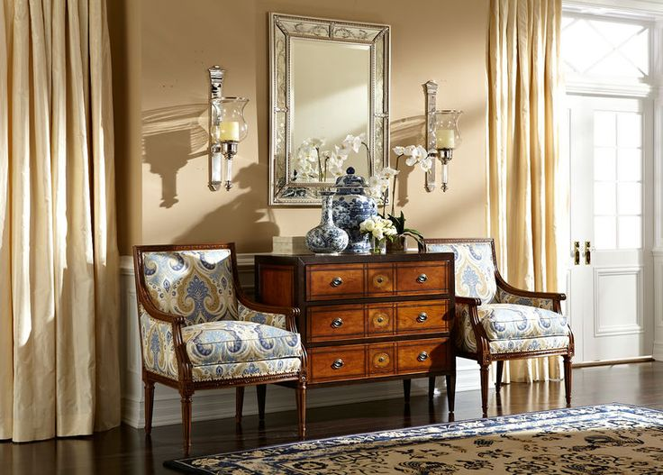 The Tristan Nickel Wall Hurricane and Venetian Mirror make a stunning pair.