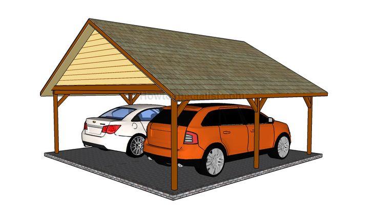48 best Wooden Carport Plans images on Pinterest | Carport ...