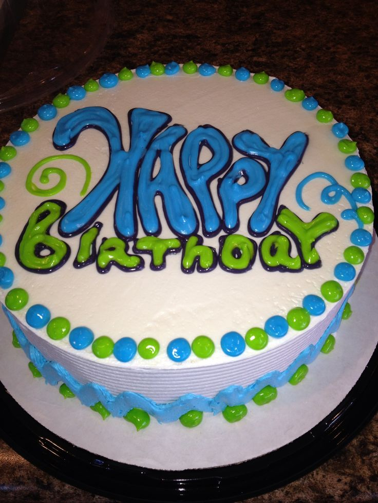 Cake Designs At Dairy Queen : Dq cakes...Dairy Queen. Happy Birthday for anyone. dq ...