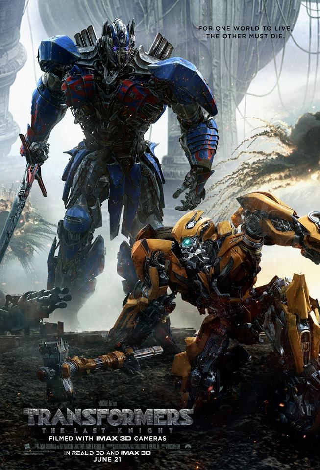 Michael Bay returns for his fifth Transformers film with Transformers: The Last Knight, a bloated epic that's sure to exhaust your eyes.
