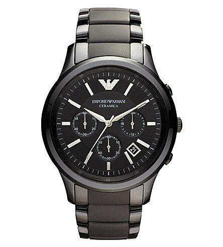 EMPORIO ARMANI Ar1452 Ceramic Watch. #emporioarmani #womens fashion watches