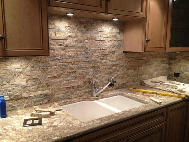 Stone Backsplash Kitchen 106 best recycled marble and granite images on pinterest | granite